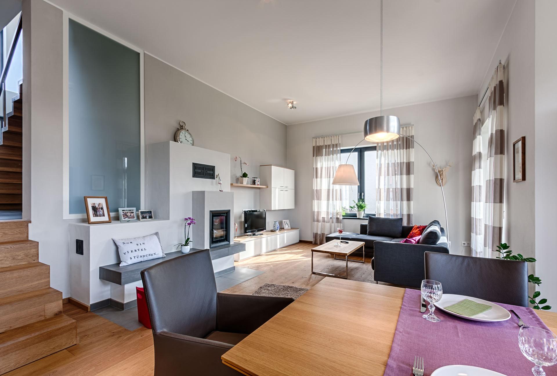 Architekt marco pieper architektur die gestaltet for Einfamilienhaus innenansicht